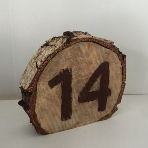 birch table number
